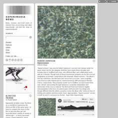 Experimedia News is using Style Hatch Premium Tumblr Theme Inspire Well