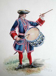 Drummer Compangies frsnches de La Marine