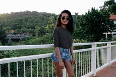 vietnam diary - Lust for Life by Olivia Lopez Olivia Lopez, Lust For Life, Warm Weather Outfits, Da Nang, Vietnam Travel, Denim Shorts, Summer, Fashion, Outfit