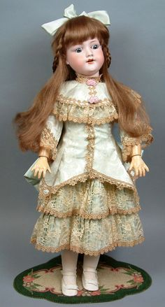 """Beautiful Reproduction Dress /& Jacket for 29/""""-30 /""""Ball Joint Antique Doll #9"""