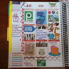 Love what people do with their EC planners!!
