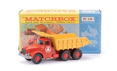 Matchbox Kingsize No.K19 Scammell Contractor Tipper Truck