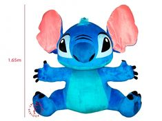 Let me introduce - Stitch! It is one of the biggest toys by Emotional Messages, Bunny And Bear, Handmade Toys, Smurfs, Plush, Stitch, Fictional Characters, Animals, Art