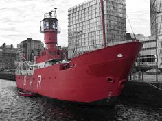 Legoff1 (Craig Hutton) | Big Red Ship | black & white one color + red selective color