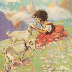 Heidi - I still remember drinking all my milk out of bowls for over a month because of this book.