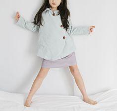 Monday Outfit: Imagine Gnats Cardi and Coat + French Sleeve Dress/Tunic | Sanae Ishida
