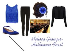 """""""Melissa Granger- Halloween Feast"""" by unitedbypotter ❤ liked on Polyvore featuring beauty, VILA, Forever New, Sole Society and Diane Von Furstenberg"""