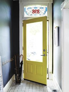 DIY Painted Interior Door | photo Angus Fergusson | House & Home