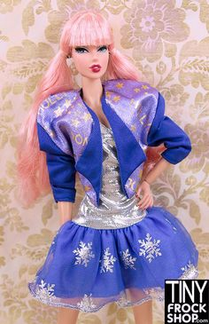 Barbie Hollywood Purple and Silver Outfit