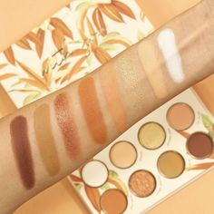 Natural Eyeshadow Palette, Eyeshadow Pallettes, Color Pop, Swatch, Lipstick, Slay, Nature, Shades, Beauty