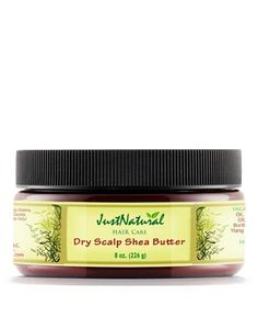 Dry Scalp Shea Butter - This dry scalp butter soothes your scalp with natural herb extracts