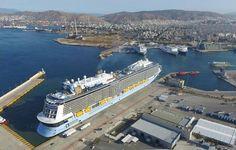 Piraeus Port Authority Reports Increase in Cruise Passengers