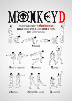 Monkey D Workout