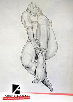 Anatomical sketch/foreshortening