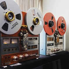 "431 Likes, 8 Comments - Well Rounded Sound (@wellroundedsound) on Instagram: ""Reel to Reel - one of the best analogue playbacks available! And they are superb lookers as well!!!…"""