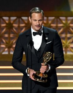 ~Welcome to the Garden of Eden~ • Alexander Skarsgard accepts Outstanding Supporting Actor Emmy