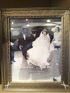 """Our beautiful """"Bella Fiore"""" frame for that """"special occasion""""! Available at Mary Tuttle's Flowers and Gifts, Chesterfield, MO., or marytuttles.com"""