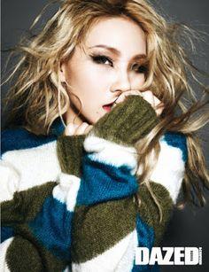 CL 2NE1 - Dazed and Confused Magazine November Issue 2014