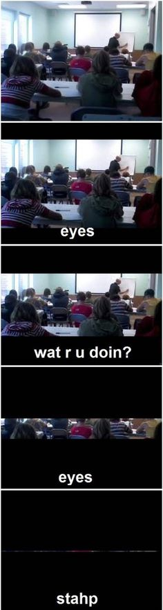 This happened to me a lot at school. Lol