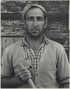 River Man, Luzzara, Italy; Paul Strand (American, 1890 - 1976); 1953; Gelatin…