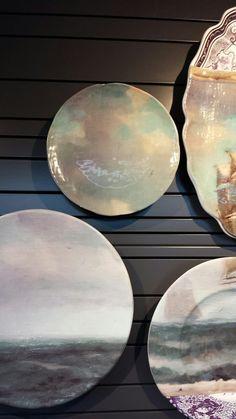 'Altered Histories' -Little Owl Design #ceramics #wallart