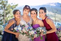 jennifer and Mitch married in Breckenridge! There were a couple of snags along the way, but the weding iitself was picture-perfect! Bridesmaid Dresses, Wedding Dresses, Wild Flowers, Bouquets, Wedding Flowers, Sky, Couples, Pictures, Blue