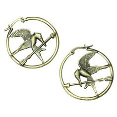 "The Hunger Games Movie Earrings Hoop ""Mockingjay""  by NECA  4.0 out of 5 stars  See all reviews (5 customer reviews) 