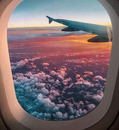 New Travel Wallpaper Iphone Airplane 43 Ideas Sky Aesthetic, Travel Aesthetic, Airplane Photography, Travel Photography, Summer Nature Photography, Sunset Photography, Aesthetic Backgrounds, Aesthetic Wallpapers, Shotting Photo