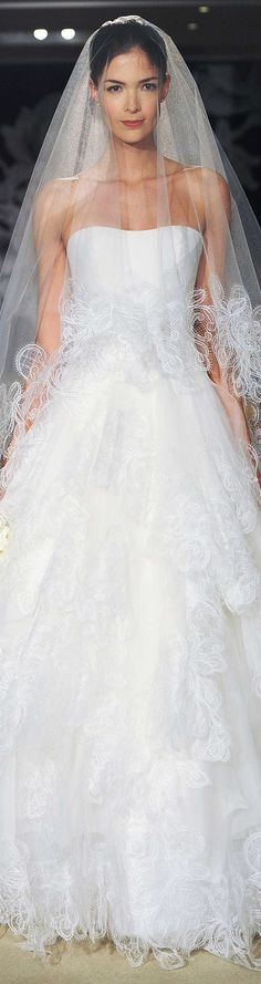 Carolina Herrera Collection Spring 2015 Bridal