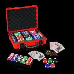 Clay Poker Chips, Poker Chips Set, Poker Set, Plastic Playing Cards, Vegas Style, Pinball, Hold On, Fun, Naruto Sad