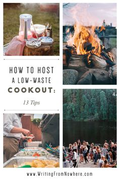 Who's ready for a low-waste BBQ! These low-waste cookout ideas will help you host a low-waste cookout this summer. These cookout planning tips are perfect for your low-waste lifestyle. Waste less this summer #lowwasteliving #lowwastelifestyle #summerparty #cookoutideas