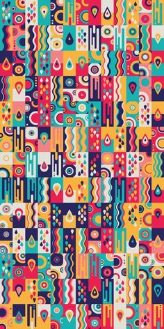 Graphic Design - Pattern Design - Russfussuk 'LiquidSunshine' Pattern Pattern Design : – Picture : – Description Russfussuk 'LiquidSunshine' Pattern -Read More – Graphic Design Pattern, Graphic Patterns, Print Patterns, Geometric Graphic Design, Abstract Pattern, Pattern Art, Colorful Wallpaper, Grafik Design, Pattern Wallpaper