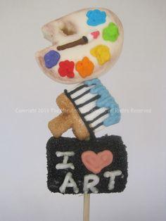 #Art & #Paint #Marshmallow #Pop