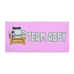 Ncis Abby Beach Towel on CafePress.com  #Abby #NCIS and Bert the Hippo. Graphic art design #BeachTowels #Cafepress lots of designs