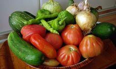 Cesta verduras ecológicas