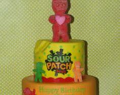 a1dbc1a5 Related image Pie Cake, No Bake Cake, Happy Birthday Kids, Sour Patch Kids