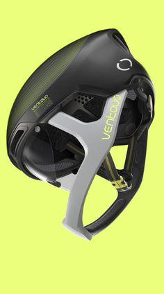 Ventoux Hybrid Helmet on Behance Shell Structure, Metal Structure, Cycling Helmet, Bicycle Helmet, Ski Sport, Small Cushions, Foam Pillows, Bike Rider, Metal Texture