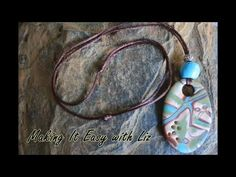 ADJUSTABLE Slide Knot Necklace~Easy Peasy - YouTube