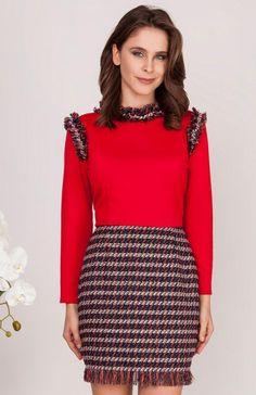 e286a2a5a0 Modna odzież  koszulki i sukienki – Najlepsze ceny i opinie. Milu by Milena  Płatek ...
