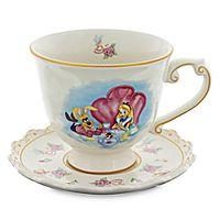 Alice in Wonderland Teacup and Saucer Set