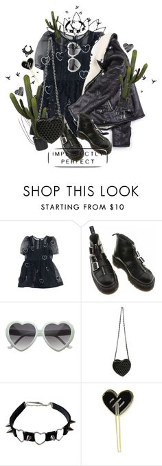 """my heart"" by anny1984 ❤ liked on Polyvore featuring Dr. Martens, Novelty and Handle"