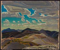 """Franklin Carmichael, """"Hilltops"""" Art Gallery of Ontario"""