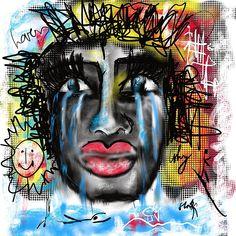 Why love by Sladjana Lazarevic Love Art, Halloween Face Makeup, Digital Art, My Arts, Greeting Cards, Wall Art, Artwork, Work Of Art, Auguste Rodin Artwork