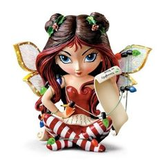 Jasmine Becket-Griffith figurines Dear Santa