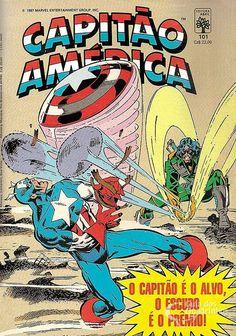 Capitão América n° 101/Abril | Guia dos Quadrinhos