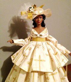 African+American+Church+Hat | African American Doll Christian Cross Faith Inspired Gift Church Hat ...