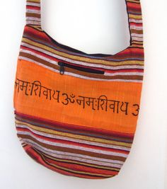 b5f6621285c8 boho bag indian hippie style saffron color by elephantsofindia