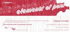#gogglez presents elementz of porn