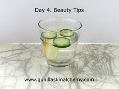 Why is drinking water so good for your skin? It plumps up and hydrates the skin as well as helps to flush out toxins. This in turn means healthier organs, more elasticity, less wrinkles, less breakouts and less dark circles around the eyes. When your body is dehydrated, the blood pulls water from your skin cells and you end up with a dry, lackluster complexion.