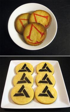 Umm Assassin's Creed Cookies. Looking up awesome stuff to find in the game and I find THIS